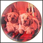 Blanket Buddies Collector Plate by Don Scarlett