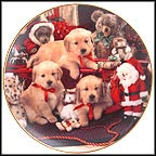 Christmas Cheer Collector Plate by Don Scarlett