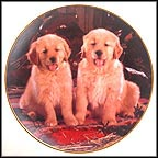 Get Along, Little Doggies Collector Plate by Don Scarlett