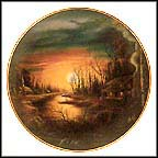 Twilight Haven Collector Plate by Ron Huff MAIN
