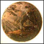 Tranquil Morning Collector Plate by Ron Huff MAIN