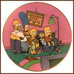 A Family For The 90s Collector Plate by Matt Groening