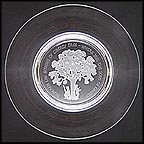 The Liberty Tree - Orrefors Crystal Collector Plate by Gilroy Roberts