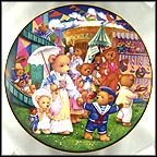 Teddy Bear Fair Collector Plate by Carol Lawson