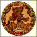 Teddy's First Christmas Collector Plate by Sarah Bengry