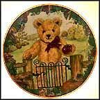Teddy's First Harvest Collector Plate by Sarah Bengry MAIN