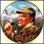 Bob Hope - Thanks For The Memories Collector Plate by Steve Brennan