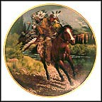 Charging Warrior Collector Plate by Tom Beecham