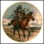Proud Hunter Collector Plate by Tom Beecham