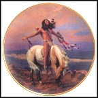 Spirit Of The Skies Collector Plate by Hermon Adams