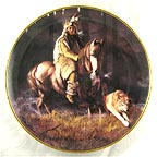 Spirit Of The Timber Mist Collector Plate by Hermon Adams