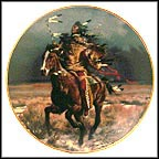 Triumphant Warrior Collector Plate by Tom Beecham
