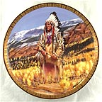 Washakie Collector Plate by Tom Beecham MAIN