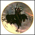 Spirit Of The West Wind Collector Plate by Hermon Adams