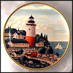 Summer Seaport Collector Plate by Harry Wysocki