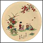 Child Of Straw Collector Plate by Shunsuke Suetomi