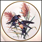 Barn Swallow Collector Plate by Roger Tory Peterson MAIN