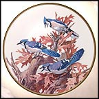 Bluejay Collector Plate by Roger Tory Peterson MAIN