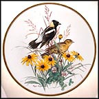 Bobolink Collector Plate by Roger Tory Peterson MAIN