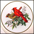 Cardinal Collector Plate by Roger Tory Peterson MAIN