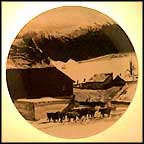 The Kuerner Farm Collector Plate by Andrew Wyeth
