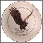 American Bald Eagle Collector Plate by Harry J. Moeller MAIN