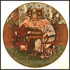 April Fool Collector Plate by Norman Rockwell MAIN