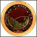 El Dorado Collector Plate by F. F. Long