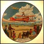 The Barnstormers Collector Plate by August Frank