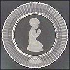 Praying Boy Collector Plate