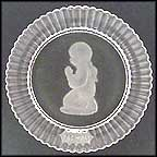 Praying Girl Collector Plate