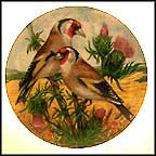 Goldfinch Collector Plate by G. Marks MAIN