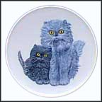 Cats Collector Plate by Gerhard Bochmann