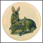 Deer Collector Plate by Gerhard Bochmann