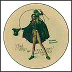 Tiny Tim Collector Plate by Norman Rockwell