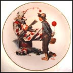 The Idol Collector Plate by Norman Rockwell