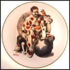 The Understudy Collector Plate by Norman Rockwell