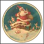 Christmas Visit Collector Plate by Julian Ritter