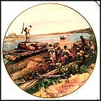 Arrival Of Sargeant Pryor Collector Plate by John Clymer