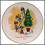 Decorating The Tree Collector Plate
