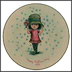Girl In Big Hat Collector Plate