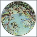 He Will Grow Up Strong Collector Plate by Karen Jean Bornholt