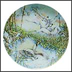 What Beautiful Birds Collector Plate by Karen Jean Bornholt