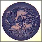 Storks Collector Plate