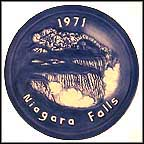 Niagara Falls Collector Plate by Judy Sutcliffe