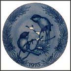 Black-Capped Chickadees Collector Plate