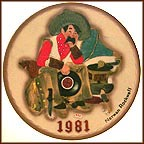 Dreams Of Long Ago Collector Plate by Norman Rockwell