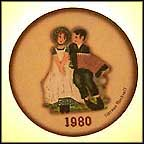 Lovers Collector Plate by Norman Rockwell