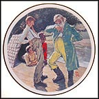 No Kings Nor Dukes Collector Plate by Norman Rockwell