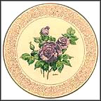 Angel Face Rose Collector Plate by Edward Marshall Boehm MAIN